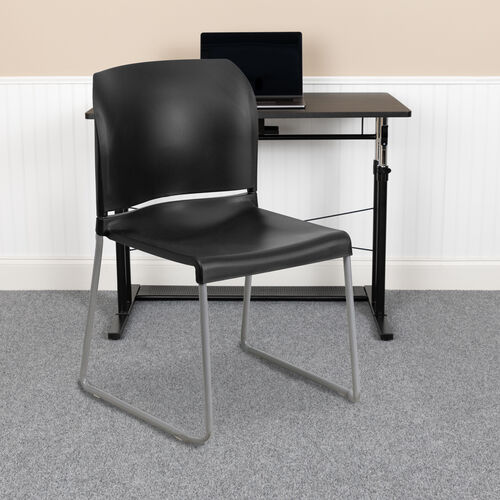 Our HERCULES Series 880 lb. Capacity Full Back Contoured Stack Chair with Powder Coated Sled Base is on sale now.