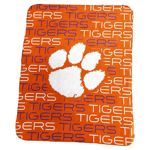 Our Clemson University Team Logo Classic Fleece Throw is on sale now.