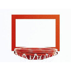 Orange Replacement Backboard Shooters Square