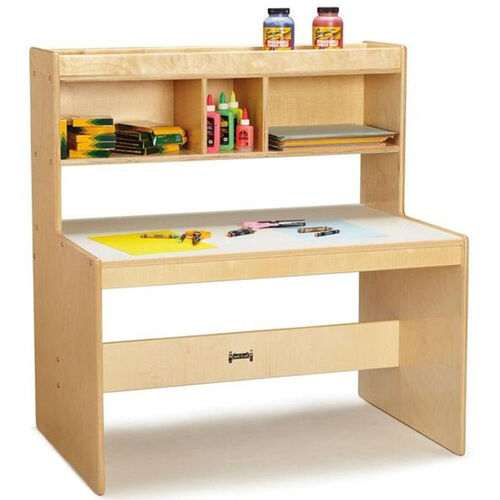 Wooden Dual Student Writing Desk with 21