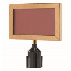 Form-A-Line Brass Sign Frame - 8.62