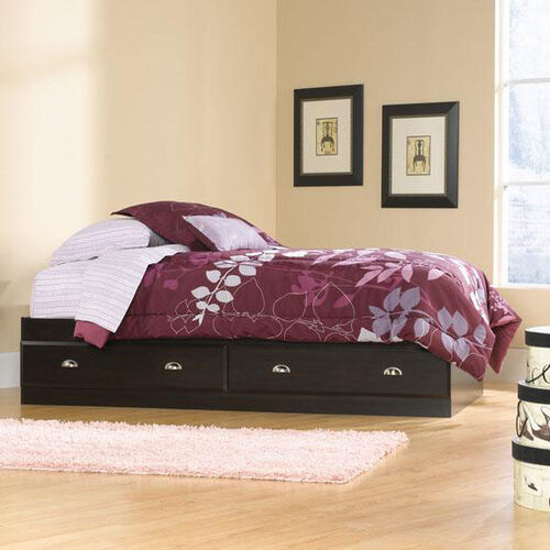 Our Shoal Creek Platform Bed with Storage - Twin - Jamocha is on sale now.