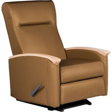 Harmony Medical Rocker Recliner with Closed Arms - Vinyl Upholstery