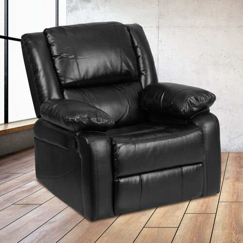 Our Harmony Series Black LeatherSoft Recliner is on sale now.