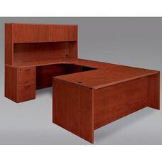 Fairplex Left U Desk with Corner Credenza