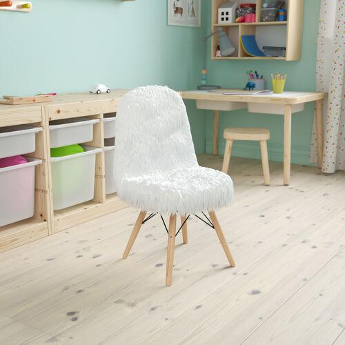 Kids Shaggy Dog Accent Chair