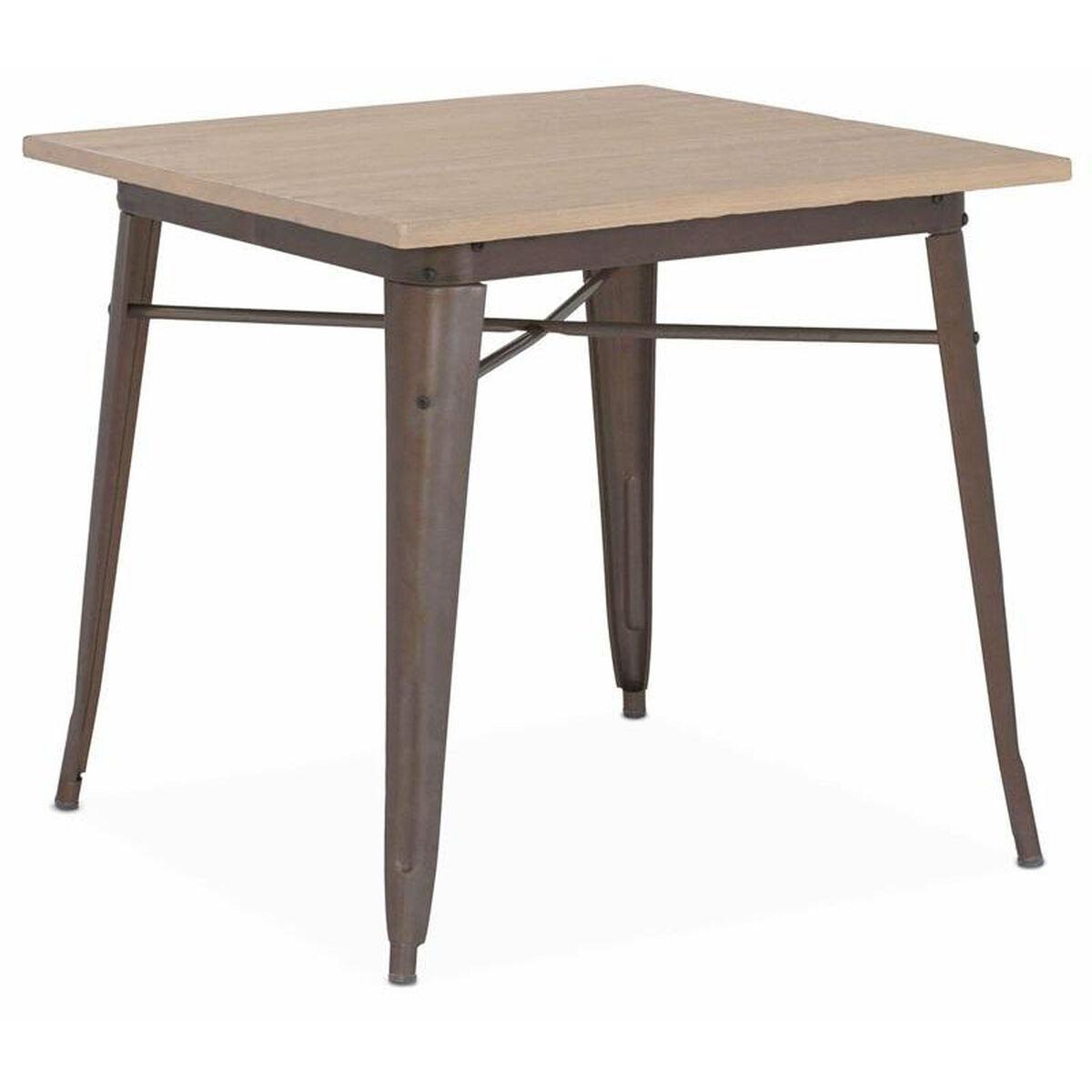 Dreux Rustic Matte Dining Table Ls 9120 Rmtlw Bizchair Com