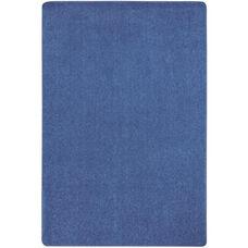 Kid Essentials Just Kidding Polyester Rug with Actionbac Backing - Cobalt Blue - 48