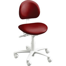 DX-3300 Plus Series - Operator Stool with Stitched Upholstery