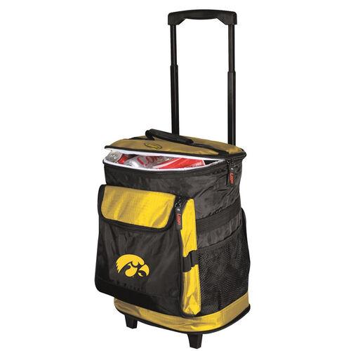 University of Iowa Team Logo Rolling Cooler