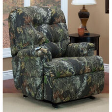 Reclining Sleeper Power Lift Chair with TV Position and Full Chaise Pad - Real Tree® Camouflage Fabric