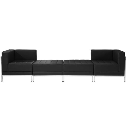 Our HERCULES Imagination Series Black Leather 4 Piece Chair & Ottoman Set is on sale now.