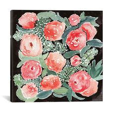 Peonies by Juliet Meeks Gallery Wrapped Canvas Artwork