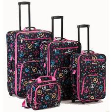 Rockland 4 Pc. Luggage Set - Peace