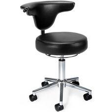 Anatomy Anti-Microbial and Anti-Bacterial Vinyl Chair - Black