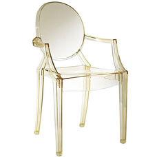 Casper Dining Armchair in Yellow