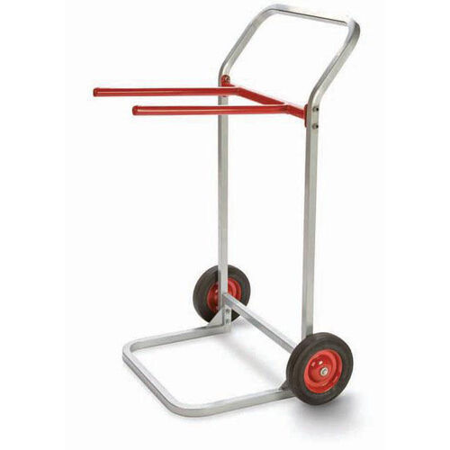 Our Steel Frame Folding Chair Dolly with 8