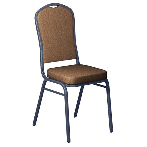 Our Embroidered Crown Back Banquet Chair in Shire Fabric - Silver Vein Frame is on sale now.