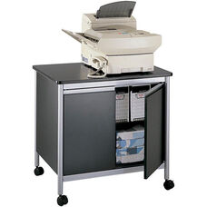 32'' W x 24.25'' D x 30.25'' H Deluxe Machine Stand - Black and Silver