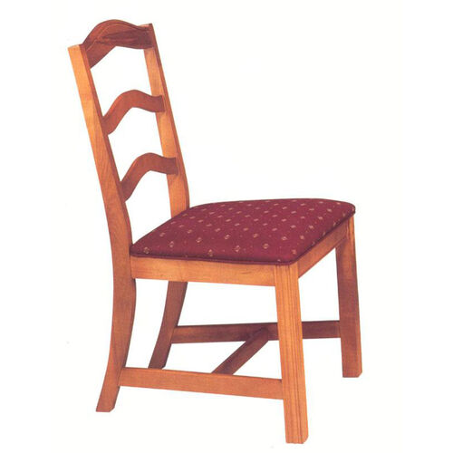 8818 Side Chair with Chippendale Legs & Upholstered Seat - Grade 1