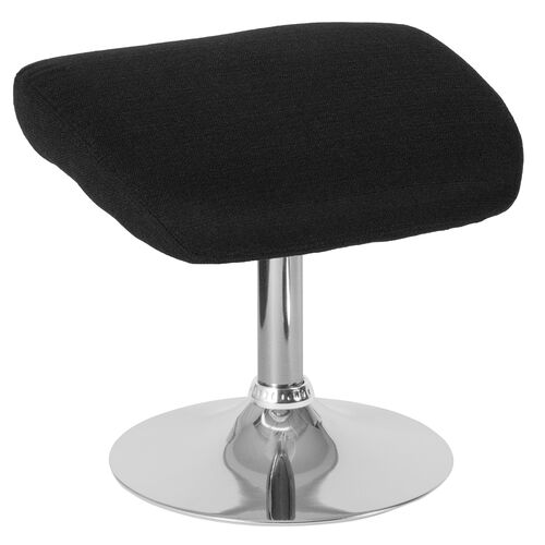 Our Egg Series Black Fabric Ottoman is on sale now.