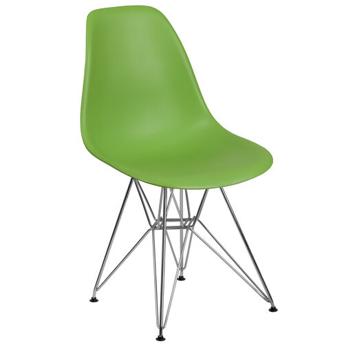 Our Elon Series Green Plastic Chair with Chrome Base is on sale now.