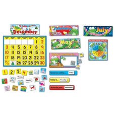 Carson-Dellosa Publishing Frog Calendar Set - 148 Pieces - 24