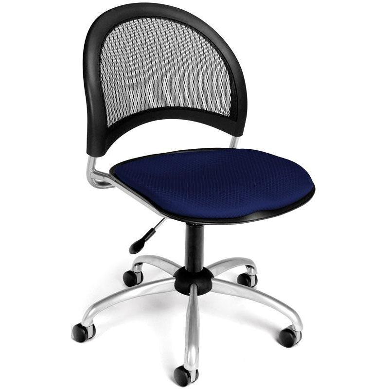 Moon Swivel Chair   Navy