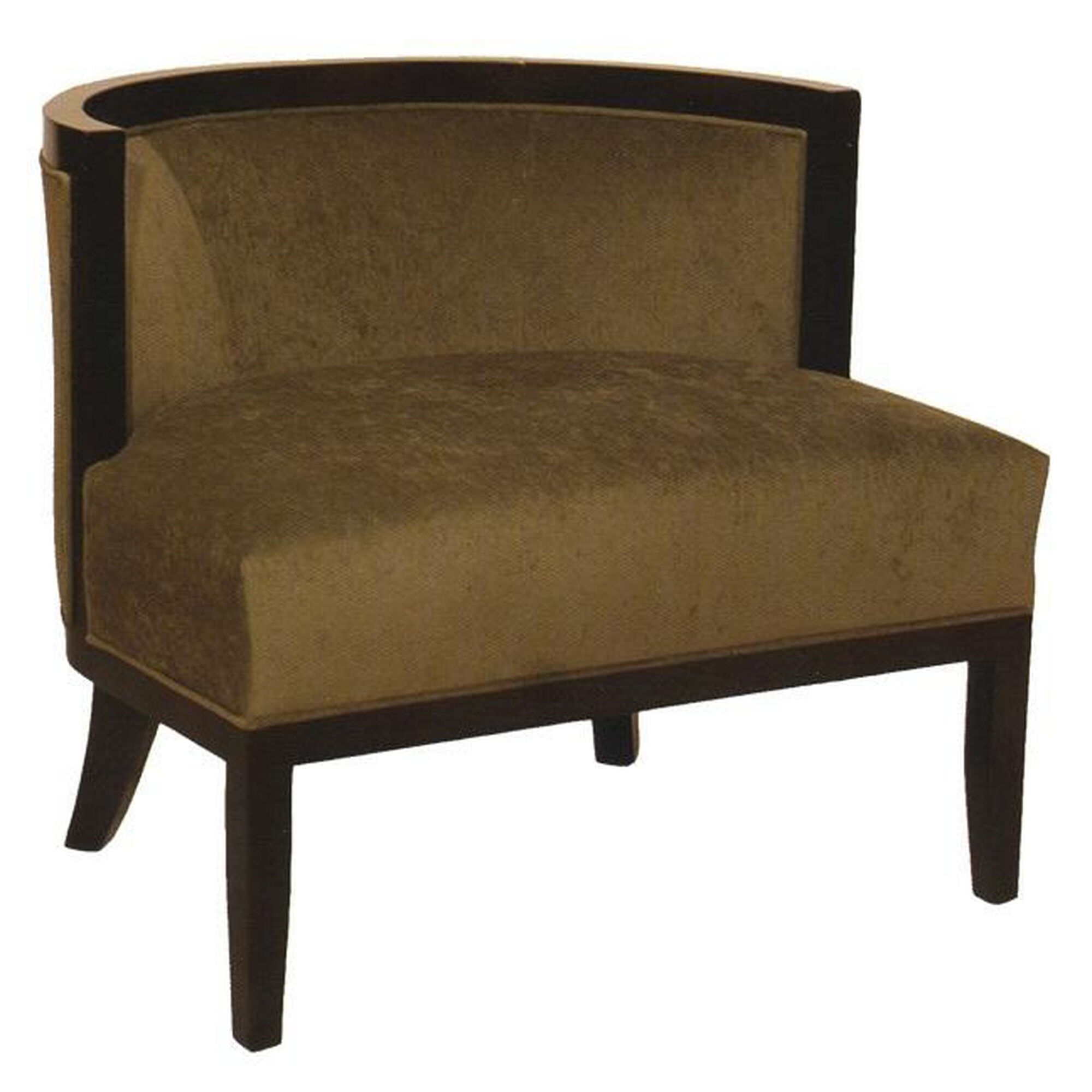 Ac furniture 2738 upholstered lounge chair w tapered wood for Furniture sites