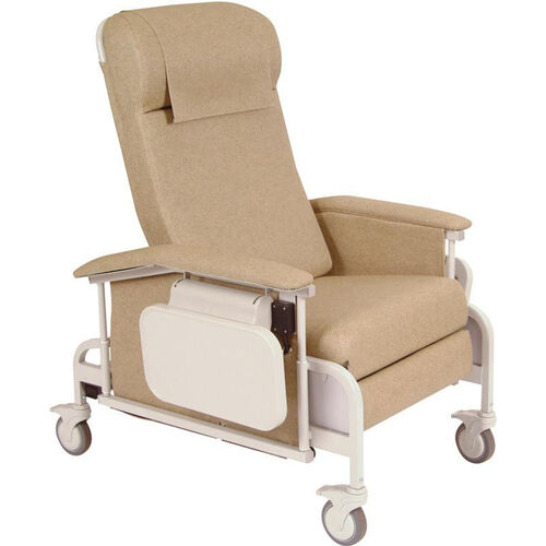 Our Drop Arm Care Recliner with Nylon Casters is on sale now.