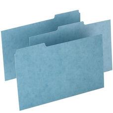 Oxford Pressboard Index Card Guides -Blank -1/3 Cut -8