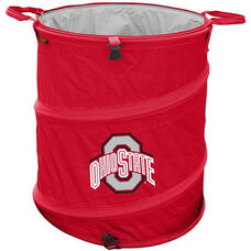 Ohio State University Team Logo Collapsible 3-in-1 Cooler Hamper Wastebasket