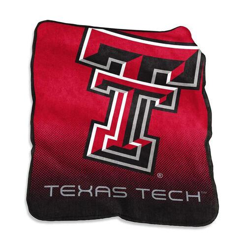 Texas Tech University Team Logo Raschel Throw
