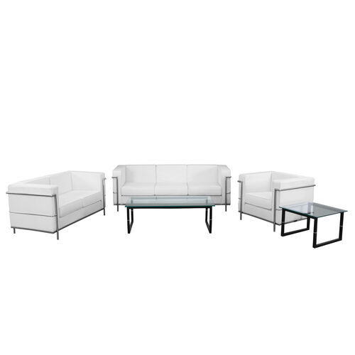 "Our HERCULES Regal Series Reception Set in White with <span style=""color:#0000CD;"">Free </span> Tables is on sale now."