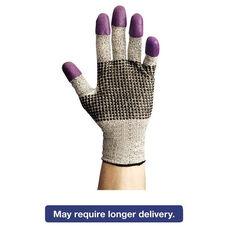 Jackson Safety G60 Purple Nitrile Gloves - Medium/Size 8 - Black/White - Pair