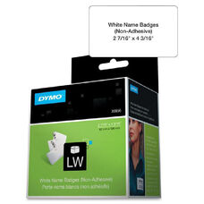 Dymo Non-Adhesive Labelwriter Name Badge Labels - Pack Of 250