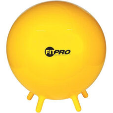 65 cm. FitPro Balls with Stability Legs in Yellow