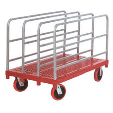 Heavy Duty Steel Frame Panel Mover with 4 Uprights - 30''W x 54''D