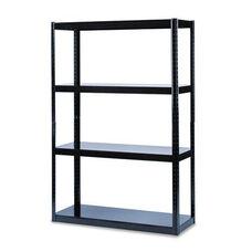 Safco® Boltless Steel Shelving - 5 Shelves - 36
