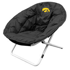 University of Iowa Team Logo Folding Sphere Chair