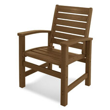 POLYWOOD® Signature Dining Chair - Teak