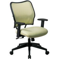Space VERA Series Deluxe Task Chair with VeraFlex Back - Kiwi
