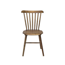 Windsor Stackable Wood Dining Chair - Dark Walnut