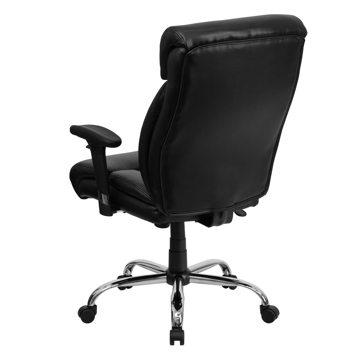 Our Hercules Series Tall 400 Lb Rated Black Leather Executive Ergonomic Office Chair