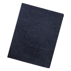Fellowes® Executive Presentation Binding System Covers - 11-1/4 x 8-3/4 - Navy - 50/Pack