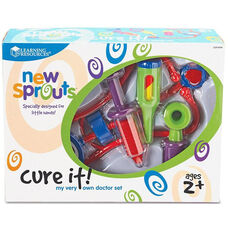 Learning Resources New Sprouts - Cure it! My Very Own Doctor Set - 6 Pieces