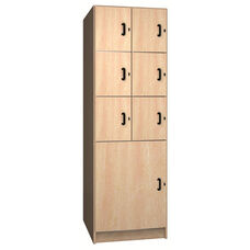 7 Compartment Storage w/Doors