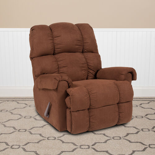 Our Microfiber Rocker Recliner is on sale now.