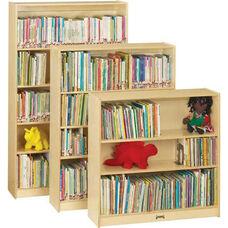 Bookcase - 2 Adjustable Shelves - Fully Assembled