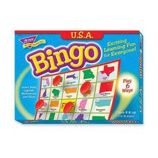 Trend Enterprises USA Bingo Game - 3 -36 Players - 36 Cards/Mats